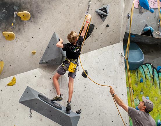 lead climbing perth