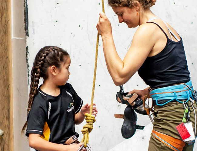 youth kids climbing courses