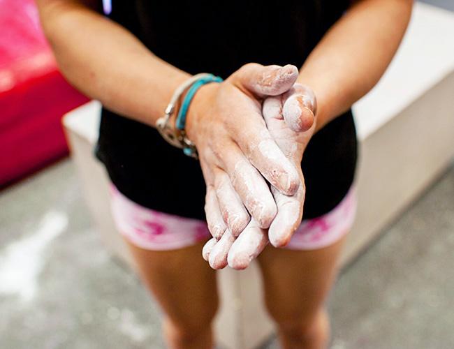Jordyn damasco chalk hands